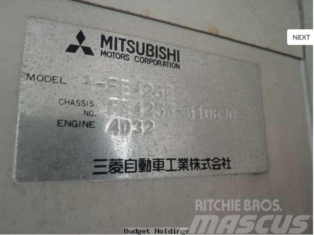 Mitsubishi Canter P-FE425E, 1987, Flakbilar