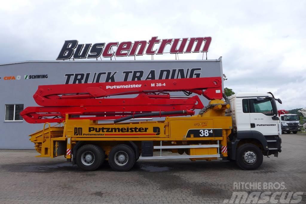 MAN TGS 33.360 6x4 Pump Putzmeister BSF 38-4 m