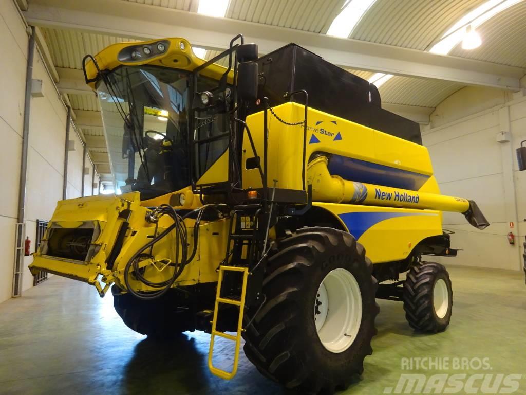 New Holland CSX7080  Latérale  SL