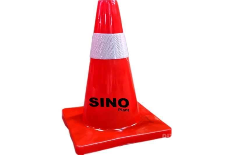 Sino Plant Traffic Cone Pvc 450mm Red Base