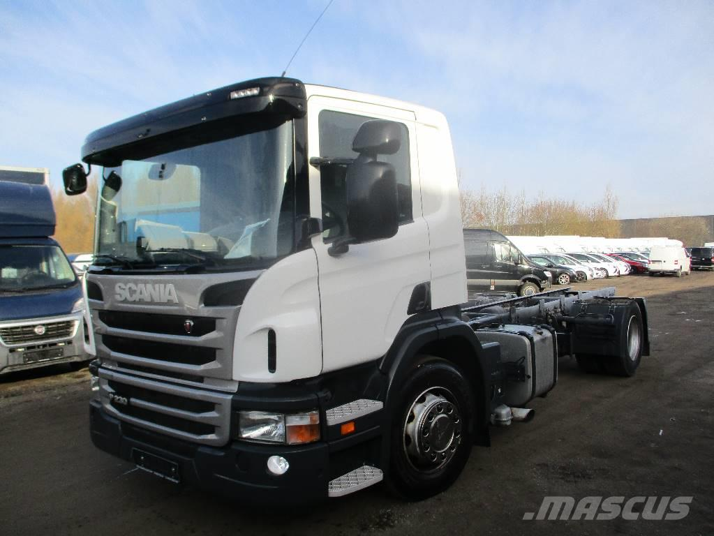 Scania p230 Chassis aut,