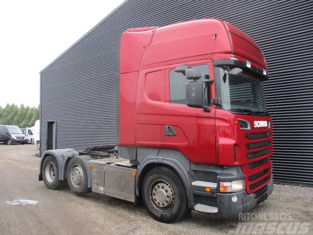 Scania R500 aut, Trækker