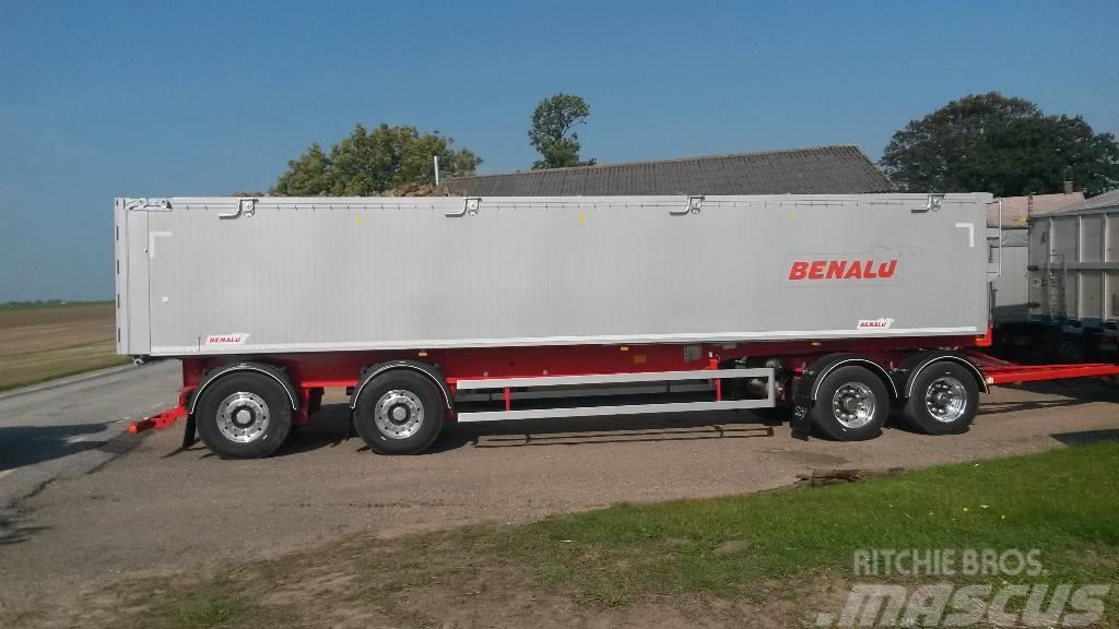 Benalu Optiliner 4-axl 7,8m - 12,4m  ex. 10,6m, 6900 kg!