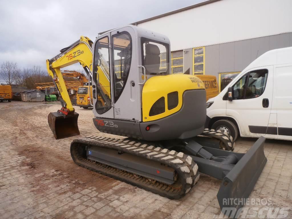Neuson 75Z3, 2012, Mini excavators < 7t (Mini diggers)