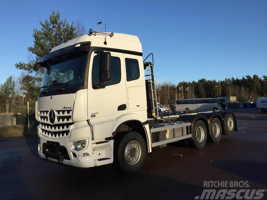 Mercedes-Benz Arocs 3253 8x4 Lastväxlare JOAB L24