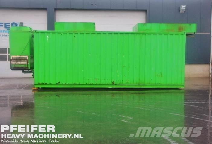 Iveco MTD.CNM.350 Generator 500kVA With Hot Water Boiler