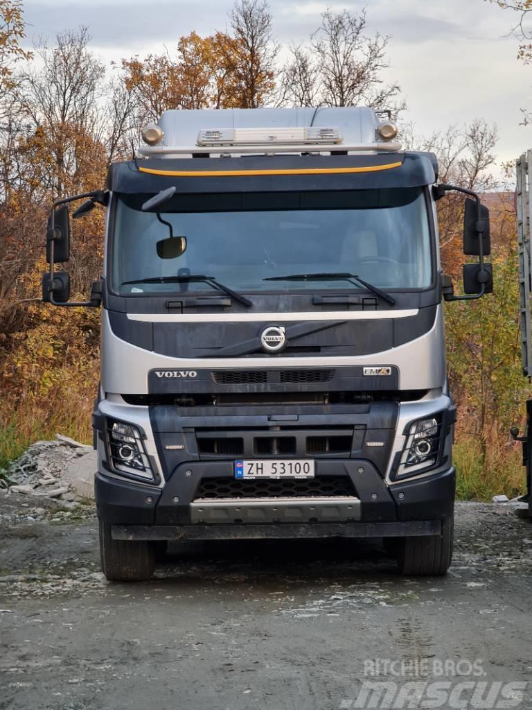 Volvo FMX 500 8x4 koukku- tai vaijerilaite