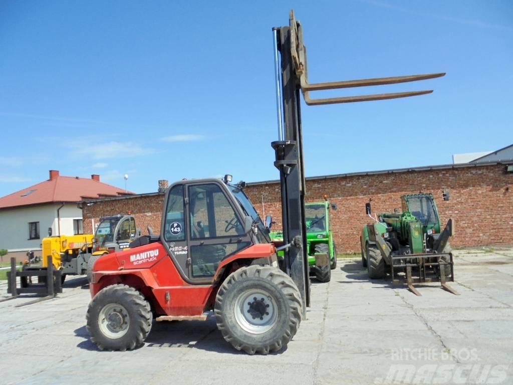 Manitou M50-4 T 4x4 (wózek terenowy,rough terrain forklift