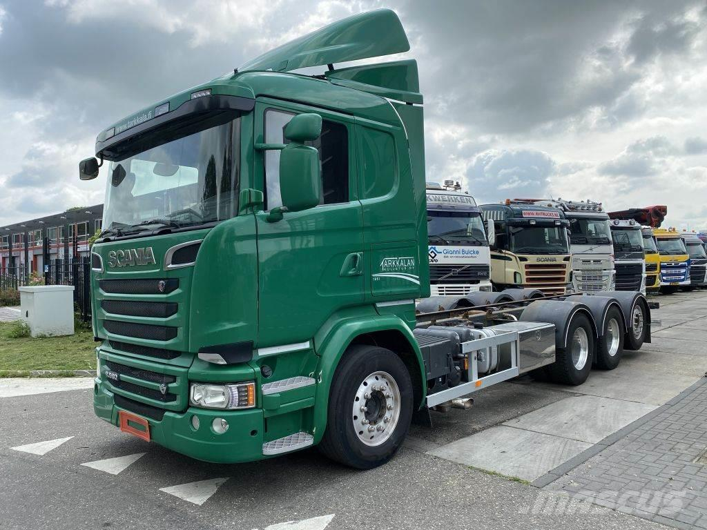 Scania R580 V8 8X4 EURO 6 + HYDRAULIEK