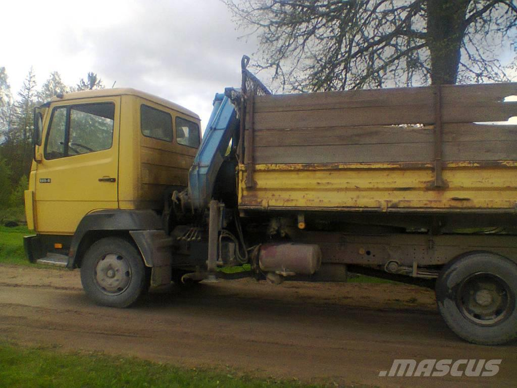 Mercedes-Benz 814, 1991, Tipper trucks ...