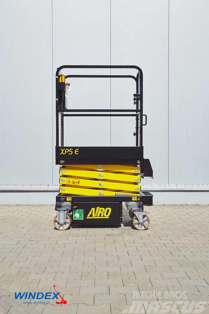 Airo XLP5 E - podnośnik nozycowy przepychany - Windex