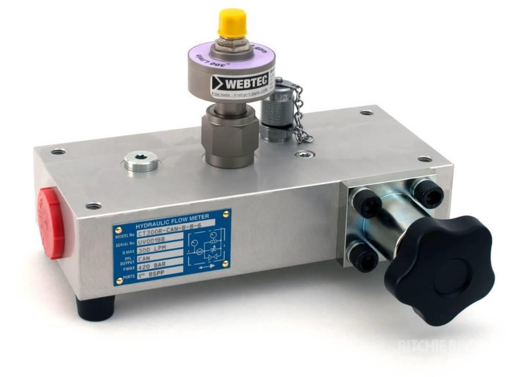 Webtec CT400R Flowmeter for HPM-Series