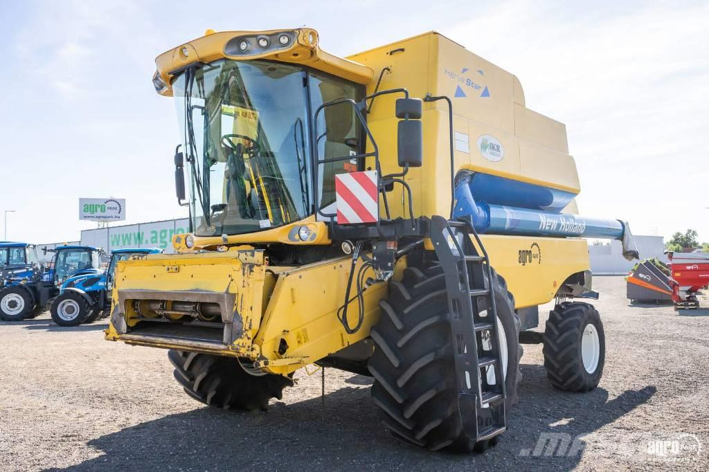 New Holland CSX7080 (5435/7072 hours) combine with 6 walkers
