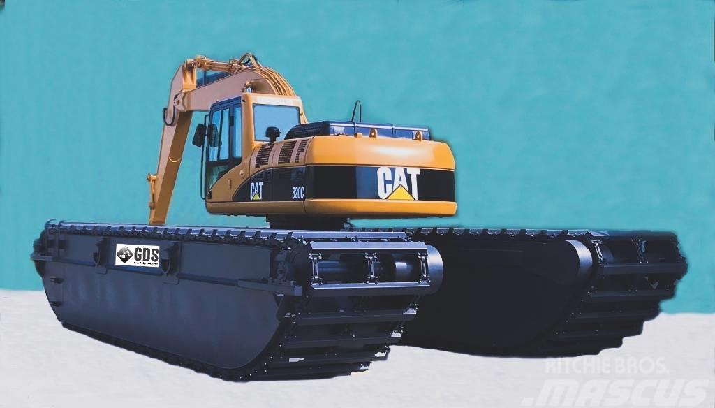 German Swamp digger CAT  320 GDS - CAT 320