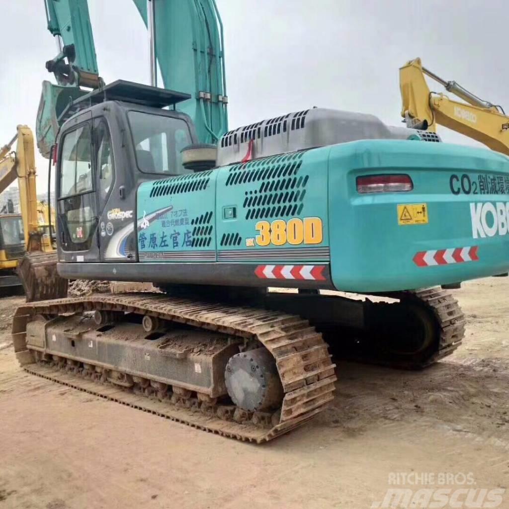 Kobelco sk380D - Crawler excavators, - Mascus UK