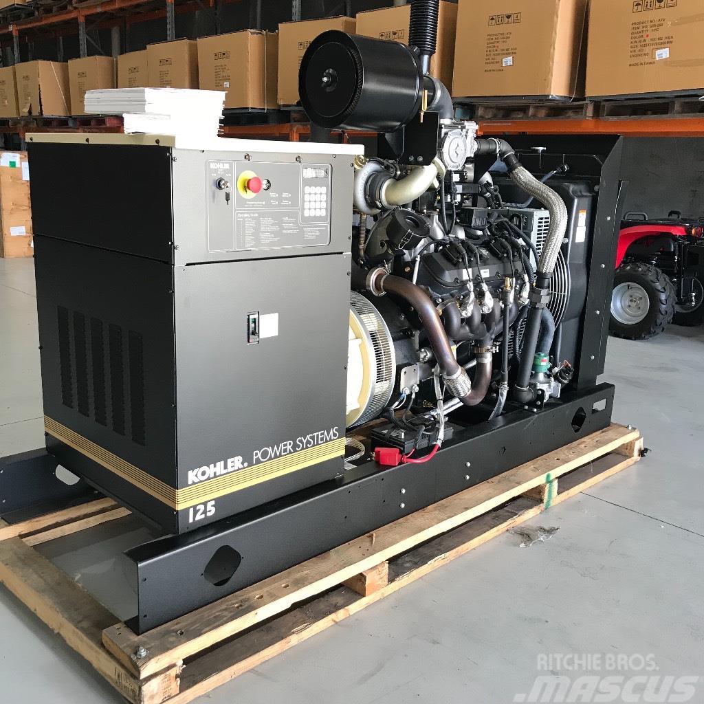 Kohler 125RZGC Dual Fuel Industrial Gas Generator