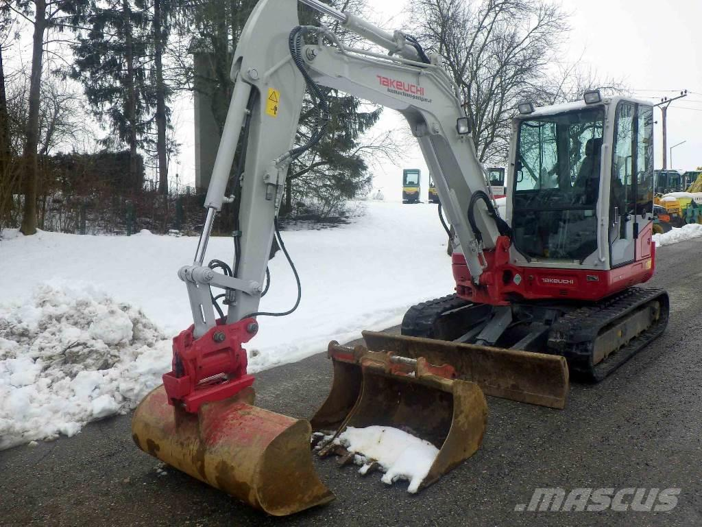 Takeuchi tb260 occasion prix 48 000 ann e d - Prix location mini pelle ...