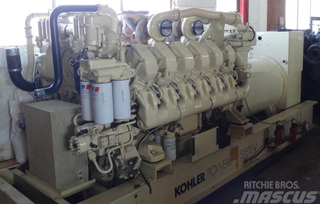 MTU 12V4000 - 1650 KVA