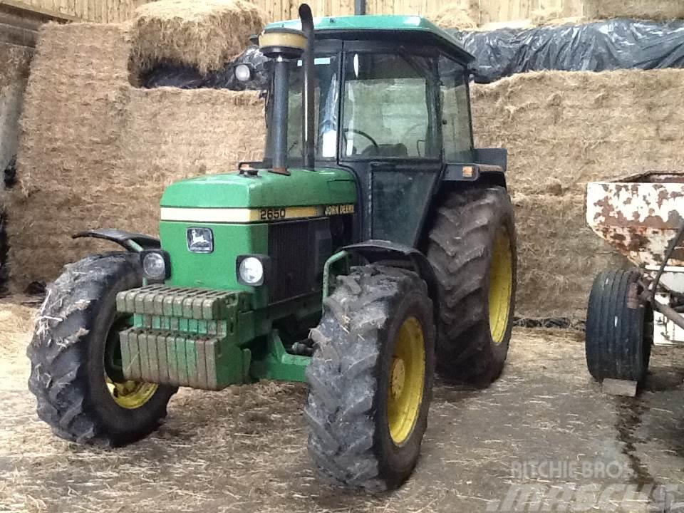 John Deere 2650 4wd Tractor
