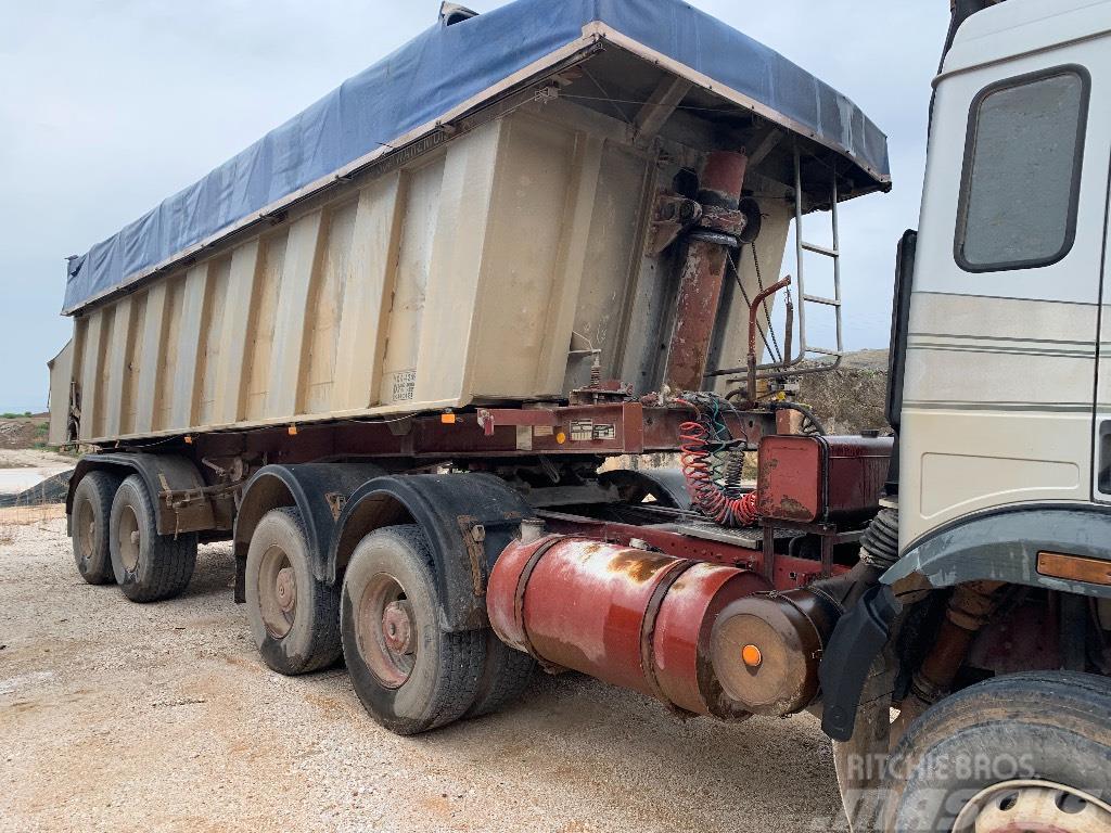 Schwarzmüller 2axle Tipper trailer
