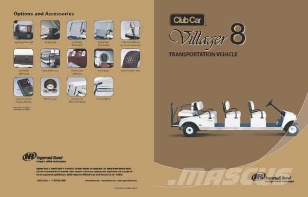 Club Car Villager 8 Electric