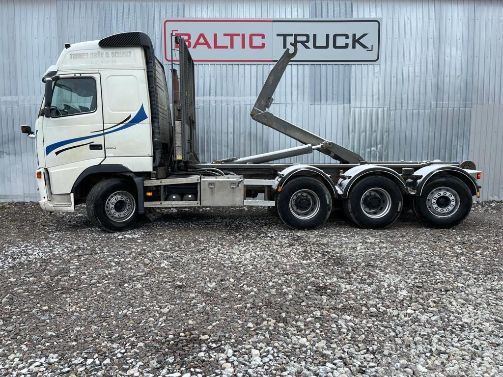 Volvo FH12 460, 8x4 HOOKLIFT