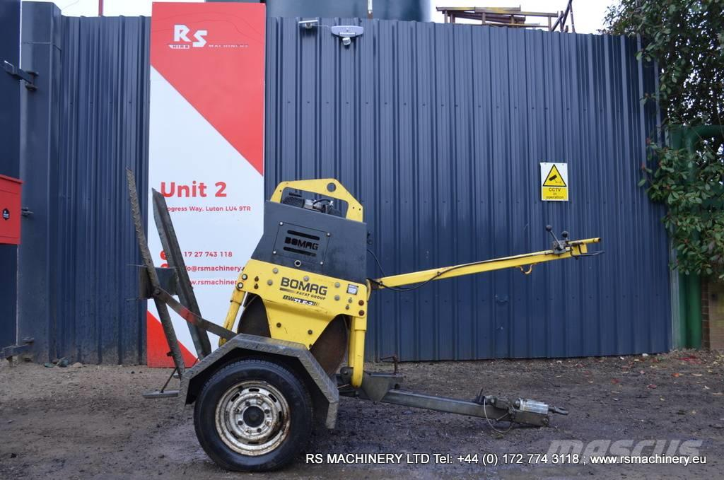 Bomag BW 71 E-2 WALK BEHIND ROLLER with TRAILER