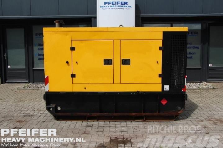 Doosan G100 102 kVA, 400 Volt, 3Phase!