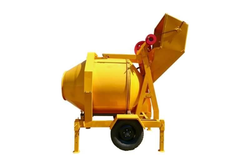 Sino Plant 560 Kg Diesel Concrete Mixer with Cable Skip
