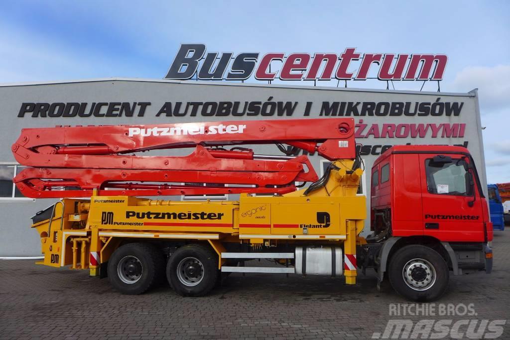 Mercedes-Benz Actros Concrete Pump Putzmeister 36m
