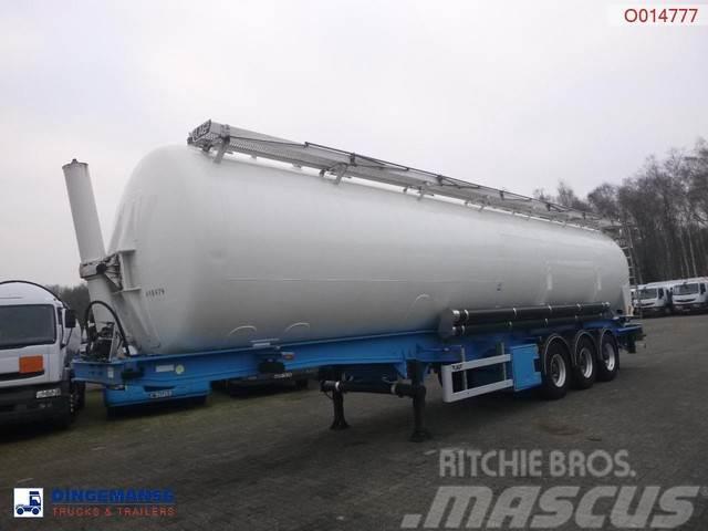 LAG Powder tank alu 63 m3 (tipping)