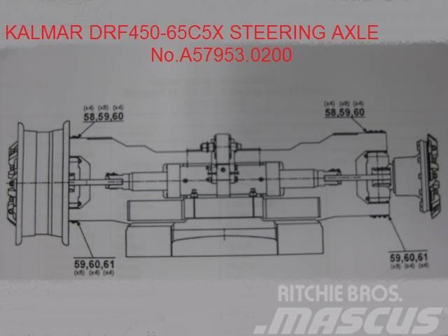 Kalmar DRF450-65C5X Steering axle No.A57953.0200