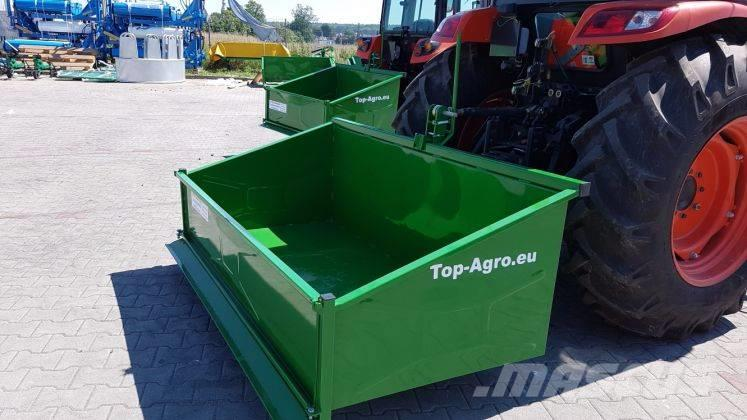 Top-Agro Transport box Premium, 1,8m mechanic, 2017
