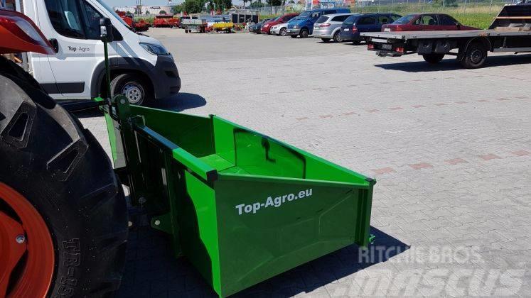 Top-Agro Transport box Premium, 1,8m mechanic, 2017, 2017, Other trailers