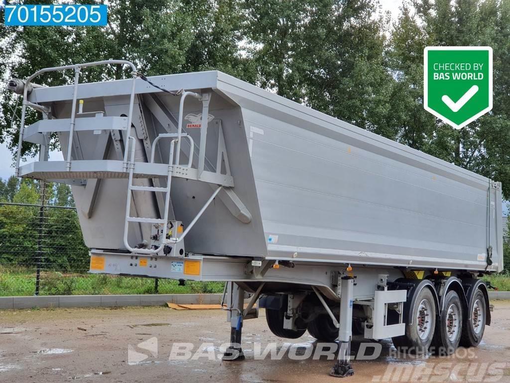 Benalu BEN 3 axles 32m3 Liftachse Alu-Kipper SAF IntraDis