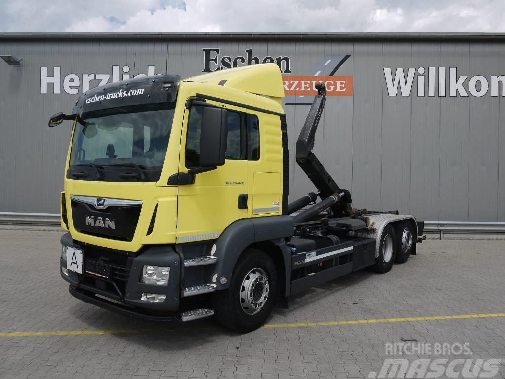 MAN TGS 26.420BL, 6x2, Meiller RS 21.65