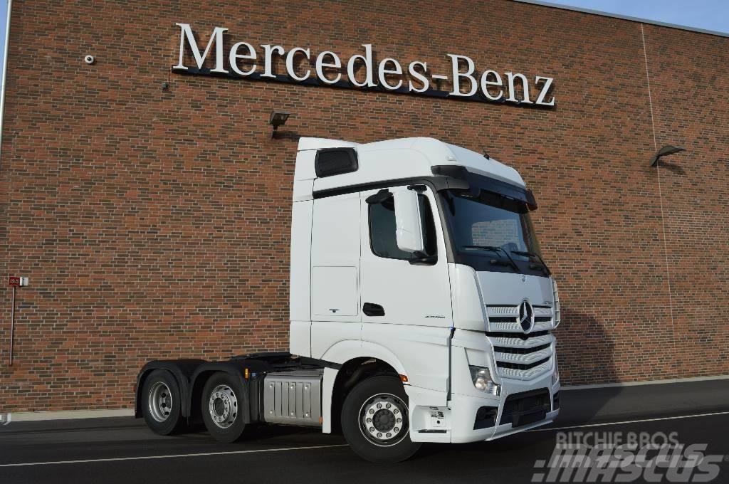 Mercedes-Benz Actros 2546 LS 6x2/2 Pusher