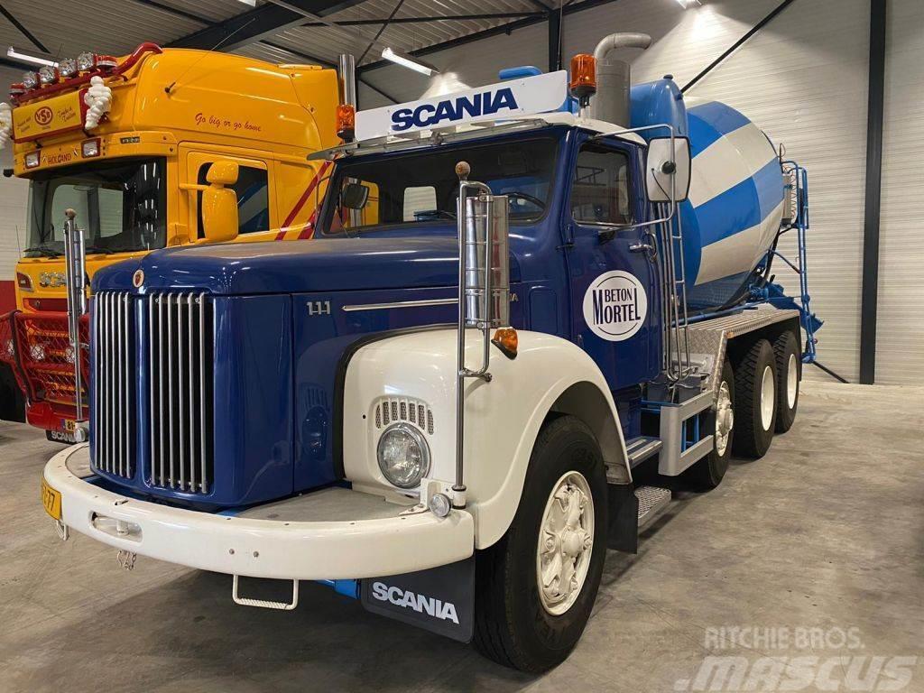 Scania T111 SCANIA LT 111 8x4 Special oldtimer