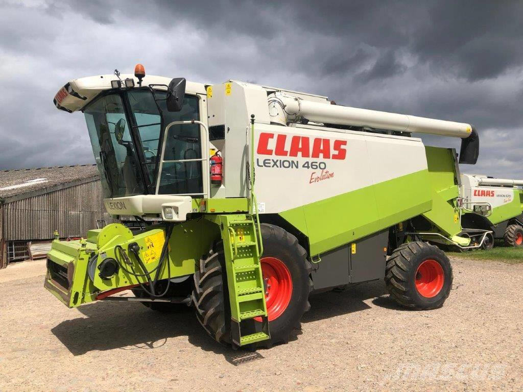 CLAAS Lexion 460 Evolution