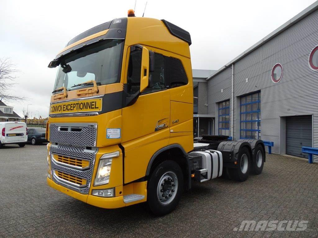 Volvo FH4-540 / 6X4 / GLOBETROTTER / AUTOMATIC / RETARDE