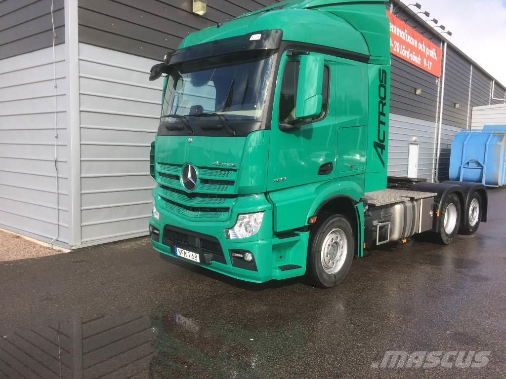 Used mercedes benz actros 2551 tractor units year 2016 for Mercedes benz actros usa