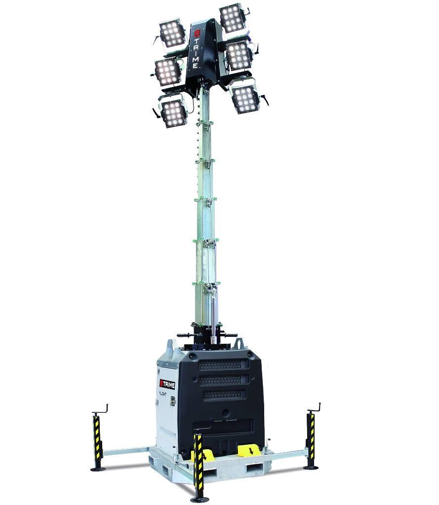 Light Tower Sales: Used Trime-x-light-led-mobiele-plug-in-lichtmast Light