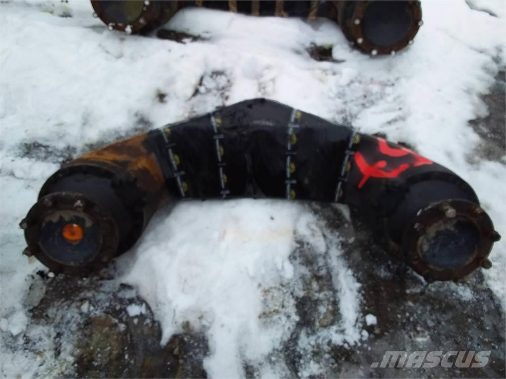 Timberjack 810D Boggielåda