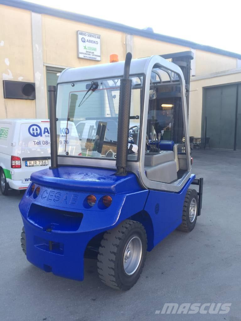 Used Cesab Drago 450 diesel Forklifts Year: 2004 for sale