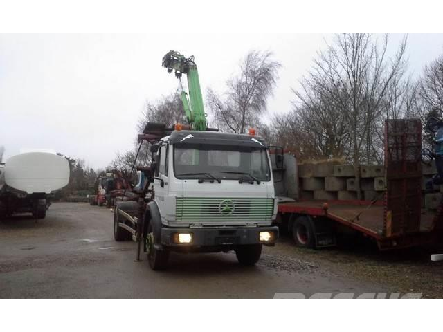 Mercedes-Benz 1722 SK TIP KRAN SPRING MANUAL