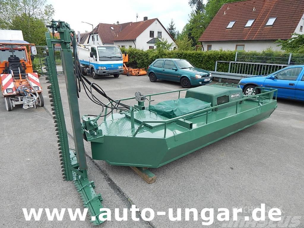 Mulag Mulag Gödde Mähboot Schneideboot Aquarius Aquatik