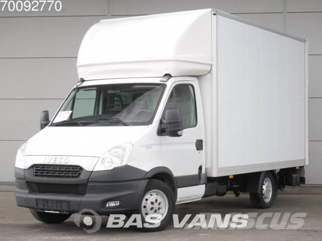iveco daily 35s17 3 0 20m3 airco bakwagen 238cm hoog laa occasion prix 17 400 ann e d. Black Bedroom Furniture Sets. Home Design Ideas