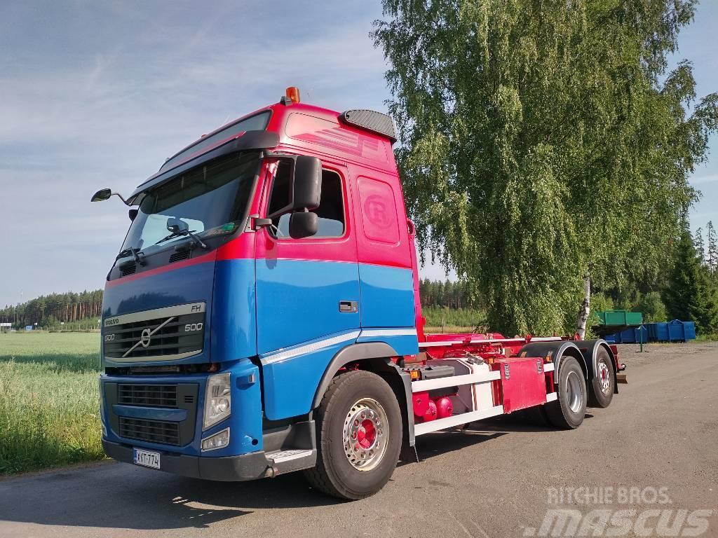 Volvo FH500 6x2 koukkulaite, Euro 5