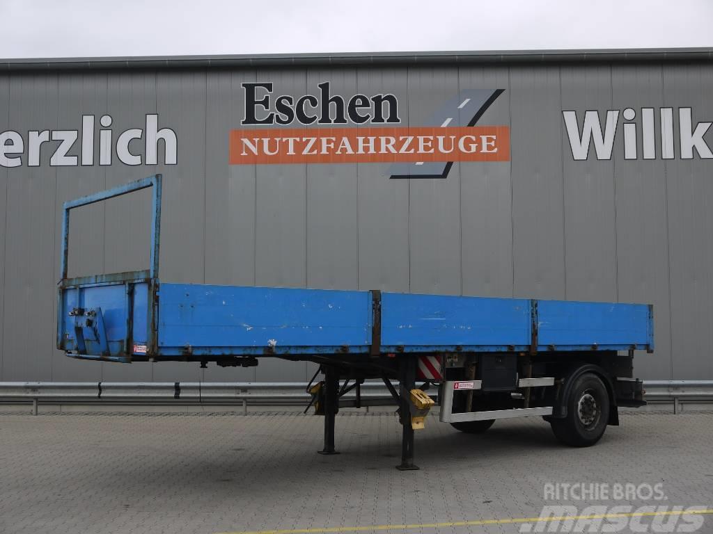 Ackermann 1 Achs Pritsche, Luft, zwangslenkung