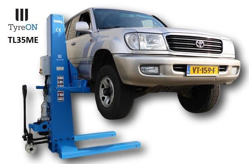 TyreOn TL35ME | 3500 KG | Mobile single post lift